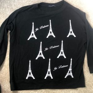 Wildfox Eiffel Tower Sweatshirt